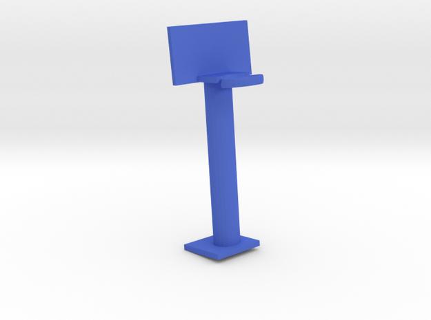 Basketball Goal in Blue Processed Versatile Plastic