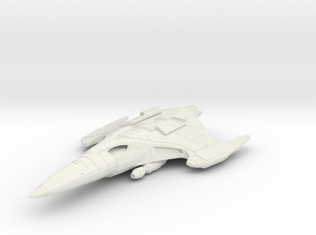 Hazari Destroyer in White Natural Versatile Plastic