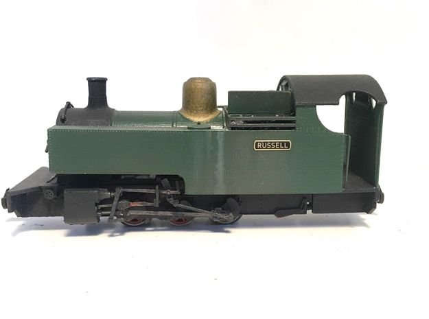 WHR RUSSELL (009) in cut-down condition in Smooth Fine Detail Plastic