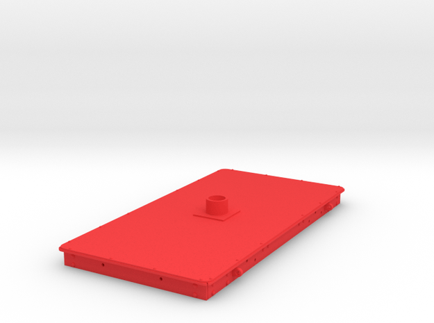 FRB08x Iron Bolster Underframe Only in Red Processed Versatile Plastic