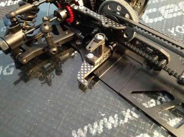 WRC STX Lipo fixation in Black Natural Versatile Plastic