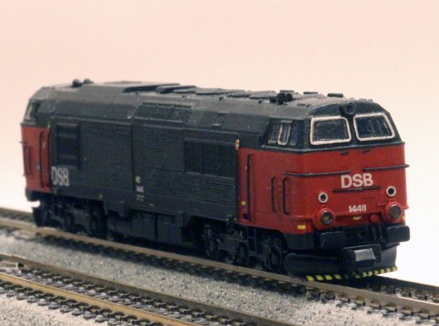DSB MZ IV in 1:160 scale