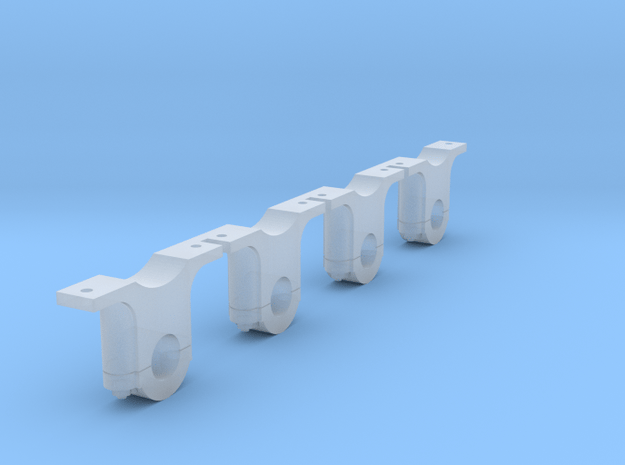 AB06 - Festiniog Railway Inside Bearing Axleboxes  in Smooth Fine Detail Plastic