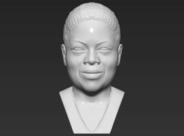 Oprah Winfrey bust in White Natural Versatile Plastic