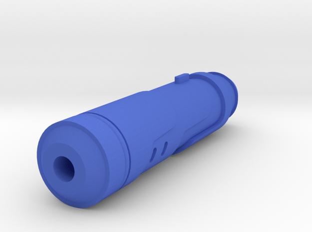 Vanquish Sniper Airsoft Silencer (14mm Self-Cuttin in Blue Processed Versatile Plastic