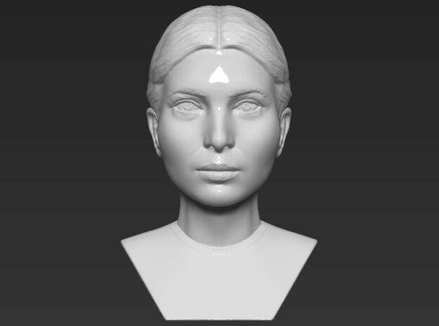 Ivanka Trump bust in White Natural Versatile Plastic