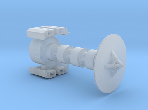 Missile satellite in Smooth Fine Detail Plastic
