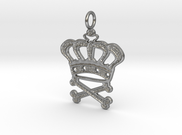King Forever in Natural Silver