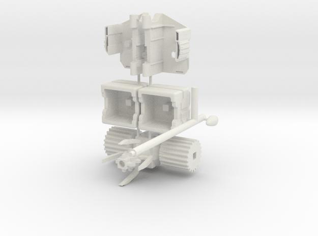 TF WFC Siege - The Magnus Hammer in White Natural Versatile Plastic