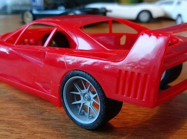 HyFo F40 Wheels in Smoothest Fine Detail Plastic