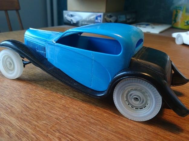 T46 Wheel in Smoothest Fine Detail Plastic