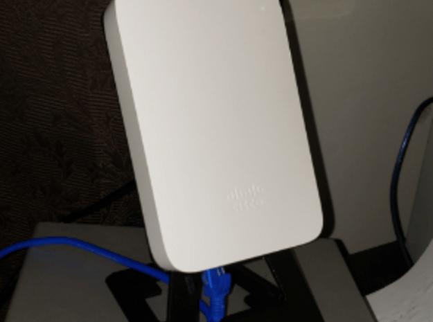 Cisco Meraki MR30h Desk Mount v1i in White Natural Versatile Plastic