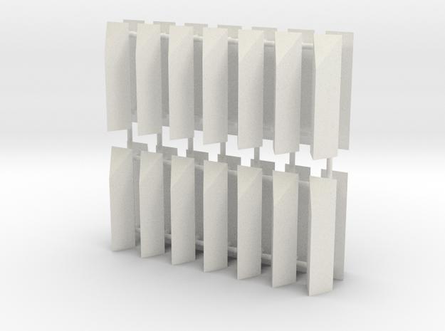 Aqueduct Enforcement Pillar Pack in White Natural Versatile Plastic