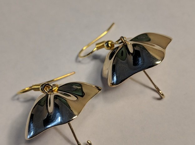 The Golden Umbrella in Polished Brass