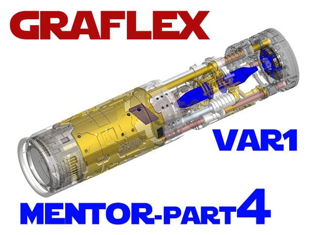 Graflex Mentor - Var1 Part04 - Crystals in Smooth Fine Detail Plastic