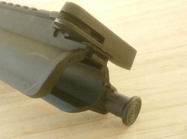 M4 Upper and Lower Receiver Securing Bracket in Black Natural Versatile Plastic