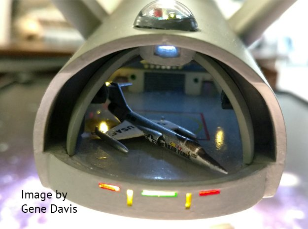 1/350 F-104 Starfighter in Smooth Fine Detail Plastic