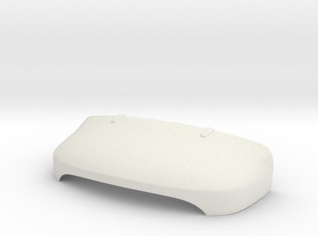 1:14 Hauber Part 4 Motorhaube / Hood in White Natural Versatile Plastic