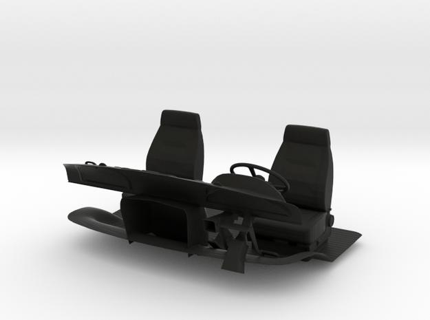 1:14 Hauber Innenraum / Interieur Part 6 in Black Natural Versatile Plastic