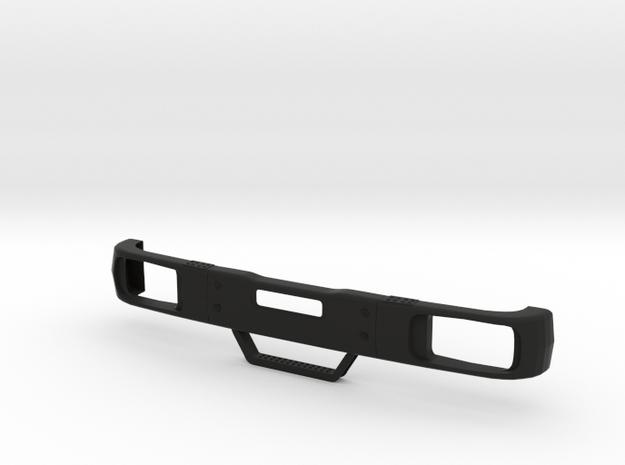 Stoßstange / Bumper Part 5 in Black Natural Versatile Plastic