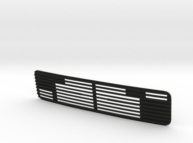 Kühlergrill / Grill cover Part 6 in Black Natural Versatile Plastic