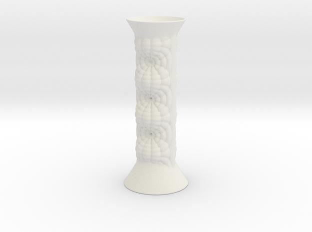 Vase 21123 in White Natural Versatile Plastic