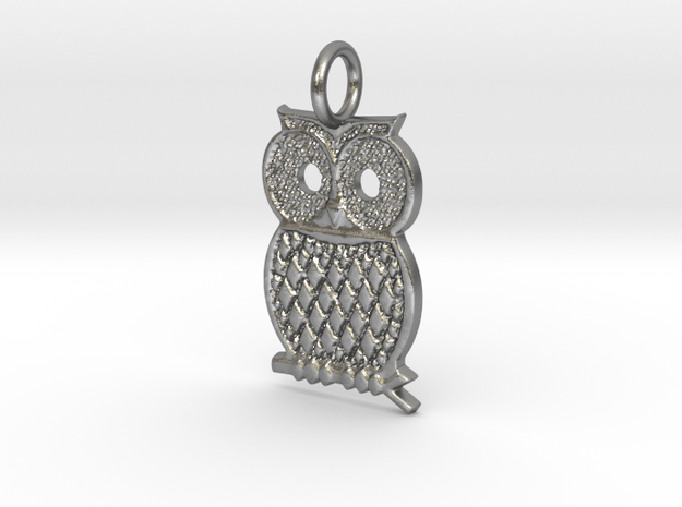 Kaps Owl too  in Natural Silver