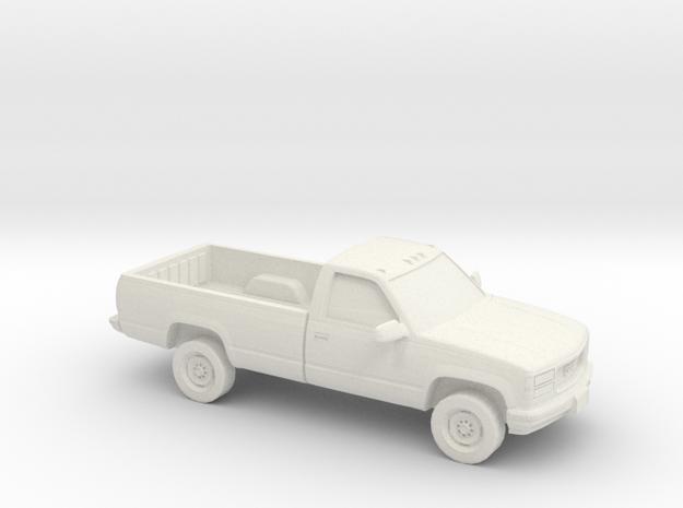 1/100 1988-98 GMC Sierra in White Natural Versatile Plastic