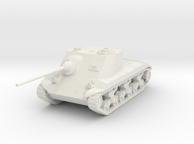 1/72 T25 AT SPG in White Natural Versatile Plastic