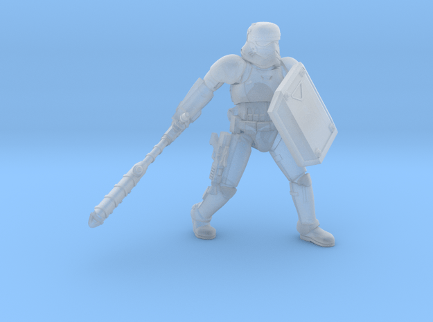 First Melee Trooper A4 in Smoothest Fine Detail Plastic