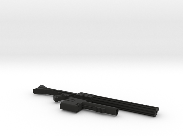 """Modified DC-15a for 6"""" in Black Natural Versatile Plastic"""