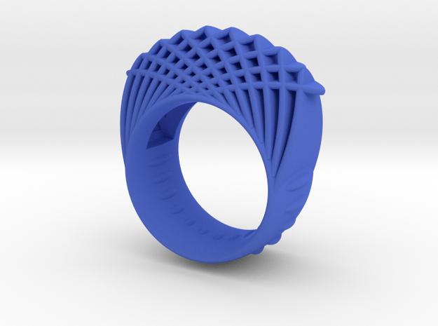 Dubbelring / Dubblering in Blue Processed Versatile Plastic: 7.75 / 55.875