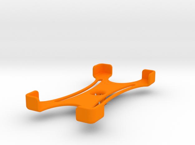 Platform (142 x 71 mm) in Orange Processed Versatile Plastic