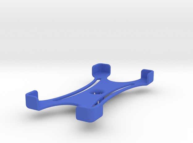 Platform (147 x 74 mm) in Blue Processed Versatile Plastic