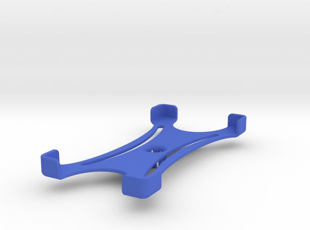 Platform (165 x 80 mm) in Blue Processed Versatile Plastic