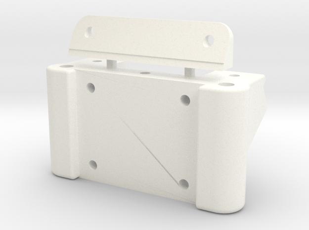 Reborn91, BULKHEAD, FRONT in White Processed Versatile Plastic