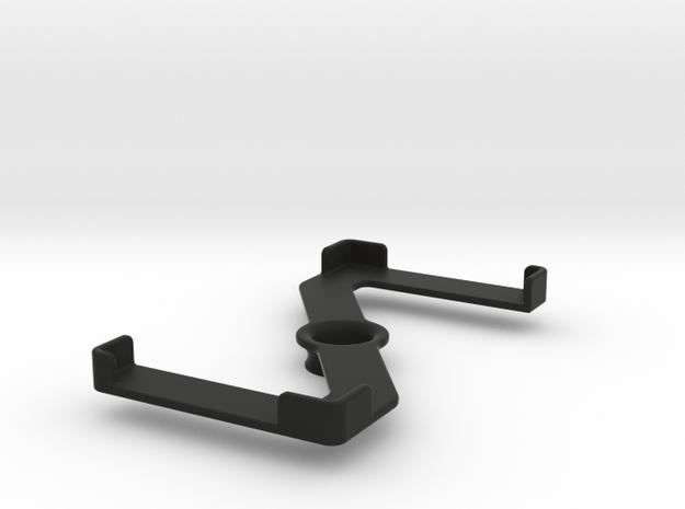 Platform (147 x 74 mm) in Black Natural Versatile Plastic