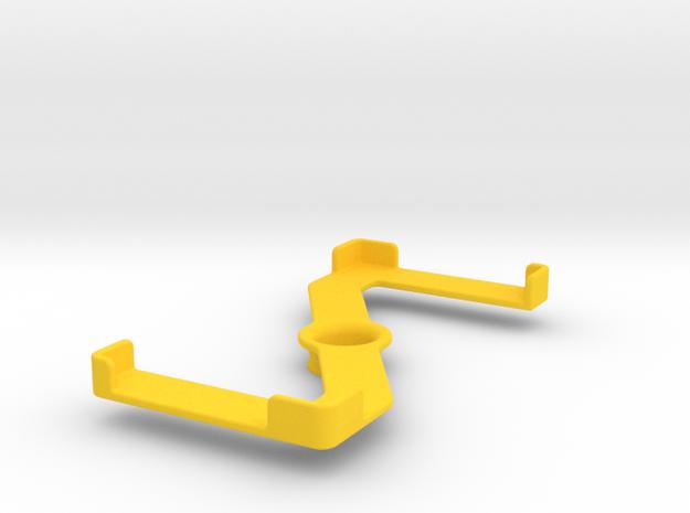 Platform (159 x 79 mm) in Yellow Processed Versatile Plastic