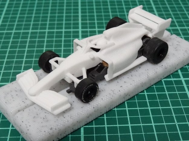 HO formula 1 2019 in White Processed Versatile Plastic