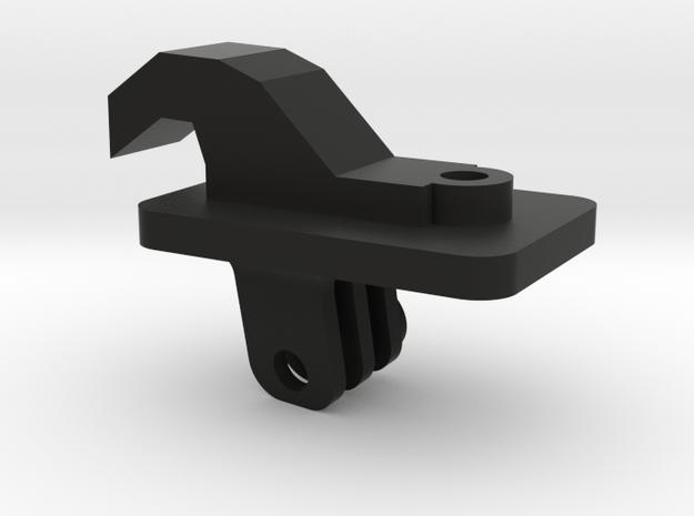 07-09 Mazdaspeed 3 visor gopro mount in Black Natural Versatile Plastic