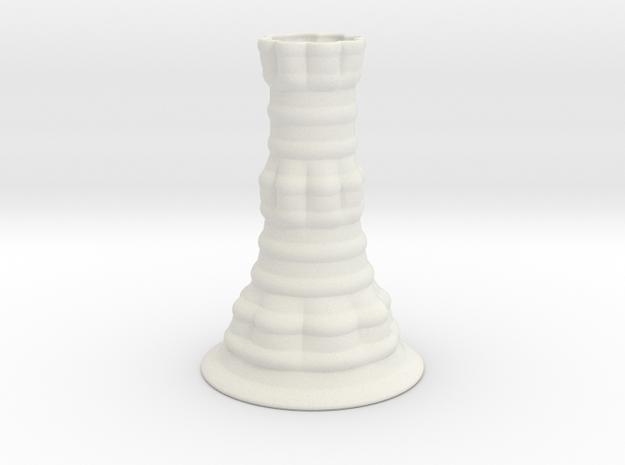 Vase 1314SN in White Natural Versatile Plastic