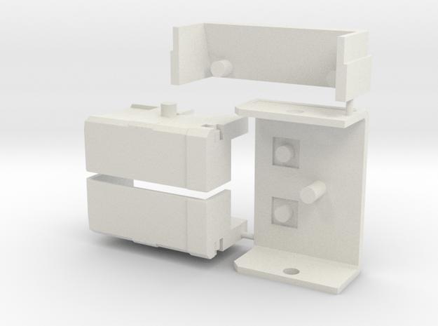 TF WFC Siege - Ironhide Full Earth Mode Kit in White Natural Versatile Plastic