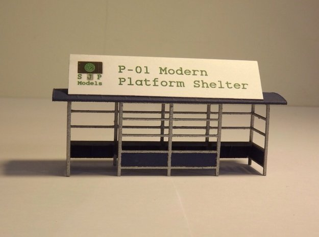 P-01 Platform Shelter in White Natural Versatile Plastic