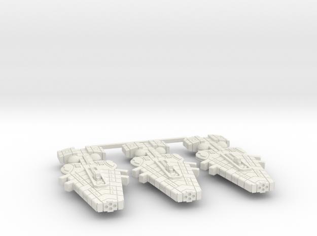 Orion (KON) Cruiser Datagroup (sprued) in White Natural Versatile Plastic
