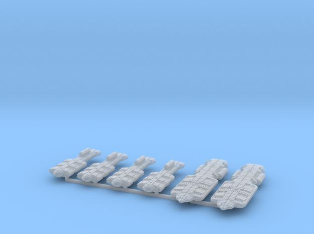 Gorm (GSN) Cruiser Squadron (sprued) in Smooth Fine Detail Plastic