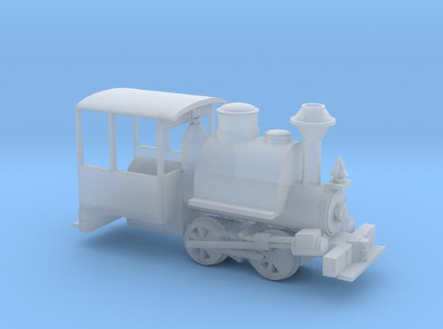 HOn30 Porter in Smooth Fine Detail Plastic