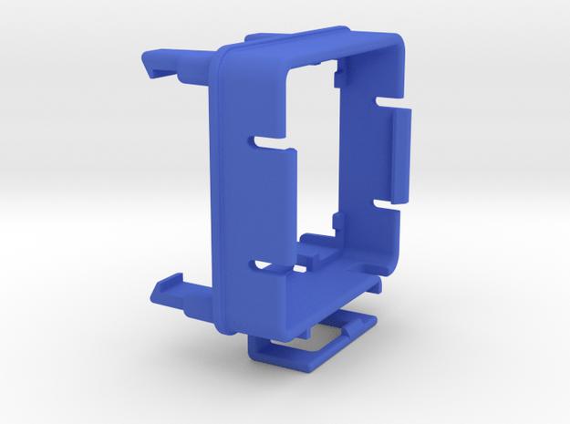 ESC cooling fan mount for Traxxas Slash VXL 3 in Blue Processed Versatile Plastic
