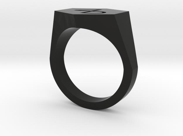 4B engraved v2-8US in Black Premium Versatile Plastic