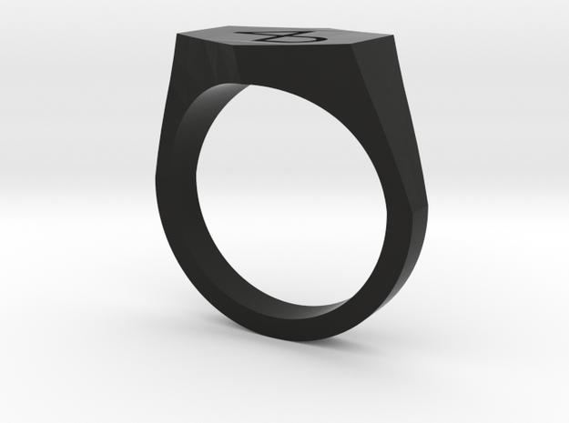 4B engraved v2-10US in Black Premium Versatile Plastic