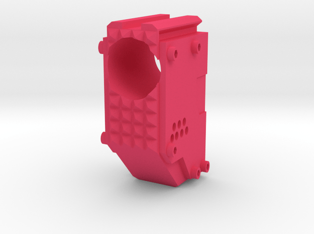 Swordfish Front End (Long) for Nerf Retaliator in Pink Processed Versatile Plastic